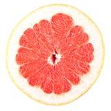 inkasowy karmowy grapefruitowy makro- plasterek Obrazy Royalty Free