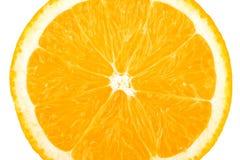 inkasowy karmowy makro- pomarańczowy plasterek Obrazy Royalty Free