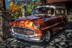 Inkasowy Klasyczny stary samochodowy retro samochodowy OPEL Zdjęcia Royalty Free