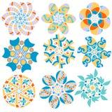 inkasowy kolorowy ornament Obraz Stock