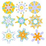 inkasowy kolorowy ornament Fotografia Stock