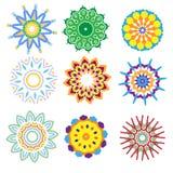 inkasowy kolorowy ornament Zdjęcia Royalty Free