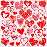inkasowy serce ilustracja wektor