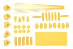 inkasowy włoski makaron Fotografia Stock
