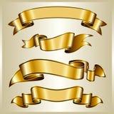 inkasowy złocisty faborek Zdjęcie Royalty Free