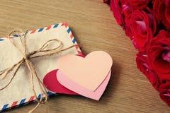 9 inkasowych eleganckich listów kochają wzoru temat romansowego bezszwowego Zdjęcia Stock