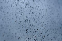 inkasowych kropel wodny okno Obraz Royalty Free