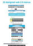 inkasowych projektantów graficzna toolkit sieć Obraz Stock