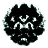 Inkblot van Rorschach vector illustratie