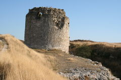 Inkerman. Ruins of Kalamita Royalty Free Stock Photo