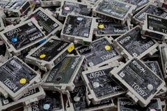 Inkjet OEM Cartridges Stock Photos