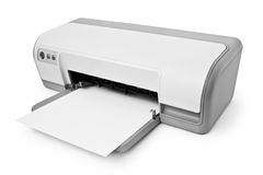 Inkjet printer Royalty Free Stock Photos