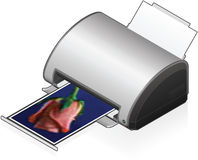 InkJet Printer Stock Photos