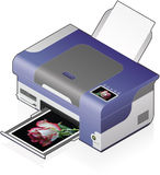 InkJet Printer Stock Photography