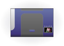 InkJet Printer Stock Image