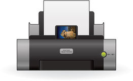 InkJet Printer Stock Image