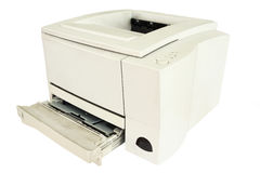 Inkjet printer. The image of an inkjet printer under the white background Royalty Free Stock Photos