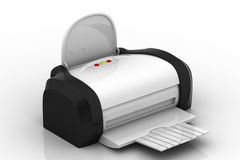 Inkjet printer Royalty Free Stock Images