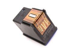 Inkjet printer cartridge isolated on a white Royalty Free Stock Photo