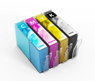 Inkjet printer cartridges Stock Photos