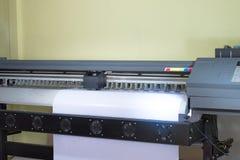 Inkjet printer machine stock photo