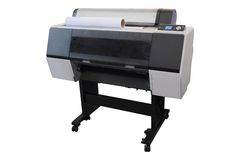 Inkjet printer. For outdoor billboards printing Royalty Free Stock Photo