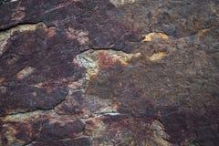 Inkluderar olika former av granitstenen Arkivbild