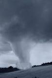 Inkomende tornado Royalty-vrije Stock Afbeeldingen