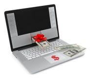 Inkomens in Internet Royalty-vrije Stock Fotografie