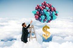 Inkomensconcept Stock Fotografie