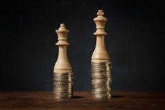 Inkomstskillnader mellan män och kvinnor arkivfoto