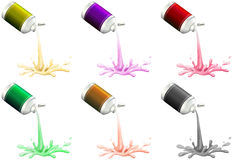 Inks Royalty Free Stock Photography