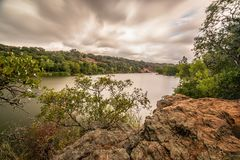 Free Inks Lake Burnet County Texas Before The Storm Royalty Free Stock Photo - 158289255