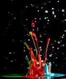 Inks splash Stock Images