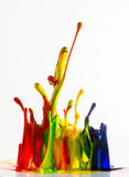 Inks splash Royalty Free Stock Image