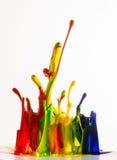 Inks splash Royalty Free Stock Image