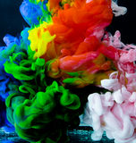 Inks in water Royalty Free Stock Photos