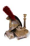 inkstand шлема подсвечника французский Стоковое Изображение