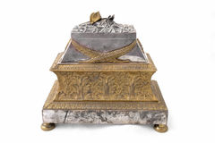Napoleon tomb ink pot Stock Image