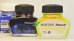 Inkt 2 van Pelikan Stock Afbeelding
