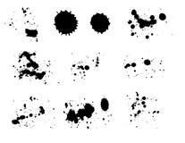 Inkt splat stock illustratie