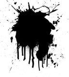 Inkt splat Stock Afbeeldingen