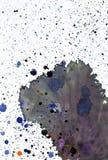 Inkt splats Stock Foto