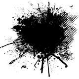 Inkt splodge Stock Afbeeldingen