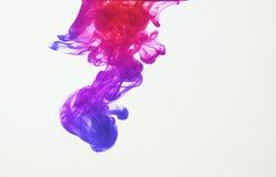 Inkt in water royalty-vrije stock fotografie