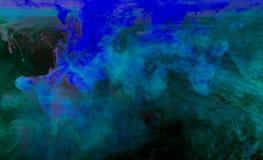 Inkt in water Royalty-vrije Stock Afbeelding