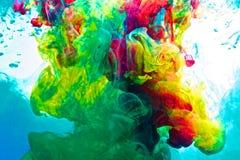 Inkt in water Stock Afbeelding
