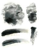 Inkt Zachte Effect Textuur Stock Foto