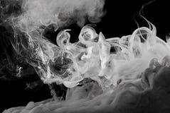 Inkt zoals rook Stock Fotografie