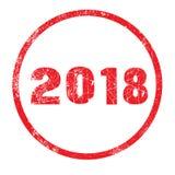 Inktzegel 2018 Stock Foto's